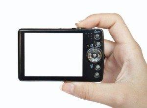 LCD экран цифрового фотоаппарата
