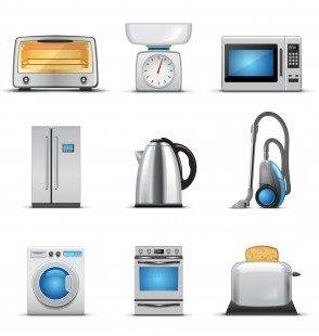 Бытовая техника на кухне