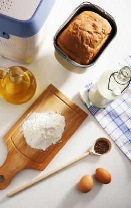 Приготовление хлеба в хлебопечки
