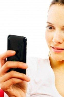 Использование сенсорного телефона