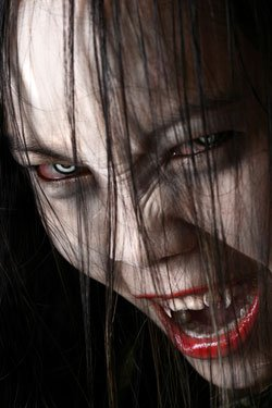 Лицо вампира