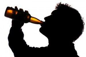Папа пьет