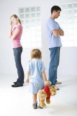 Почему поссорились мама и папа