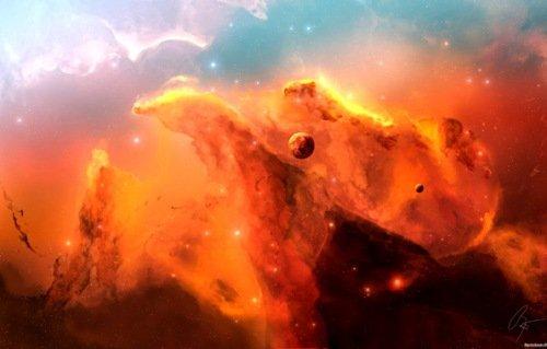 Огненная лава поглотит землю и мы увидим планету Нибиру