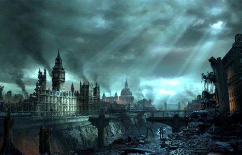 Фотографии Лондона после конца света