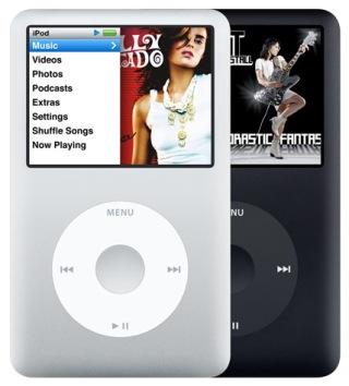 Сенсорный MP3-плеер поддерживающий видео