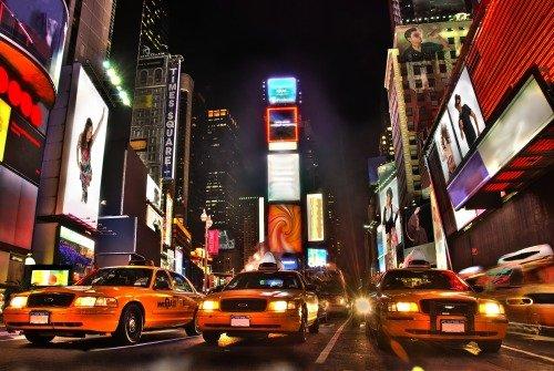 Жизнь кипит в Америке! Times Square, NY