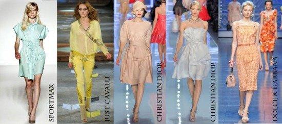 Мода от Dolce & Gabbana, Just Cavalli, Sportmax и Christian Dior