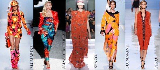 Известные бренды предпочитают оранжевый цвет весной 2012 года