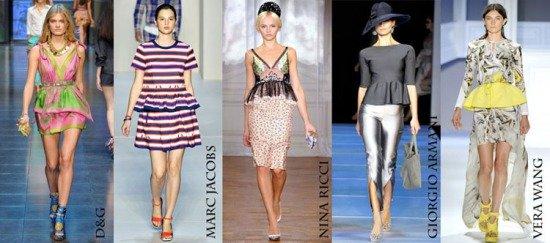 Весенняя коллекция от Nina Ricci, D&G, Giorgio Armani, Marc Jacobs