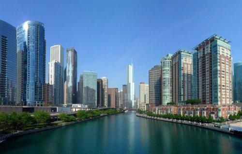 Прилив в Чикаго