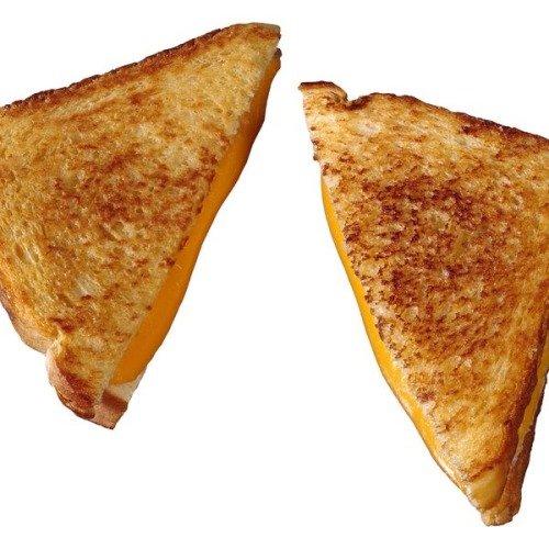 Жареный сырный бутерброд