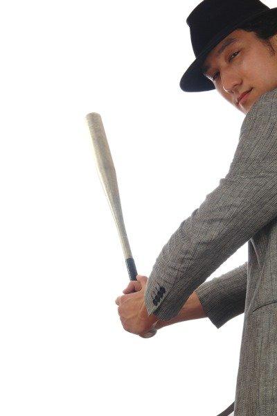 Бейсбольную биту