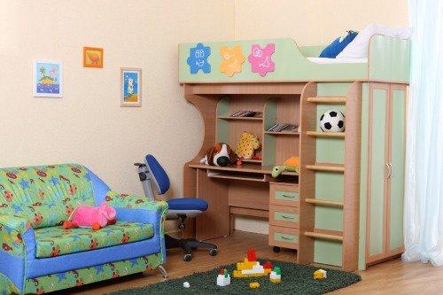 Техника в детской комнате не нужна!