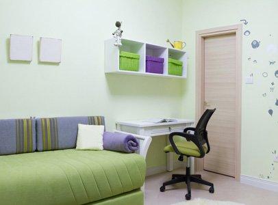 Комната для мальчика в минималистическом стиле