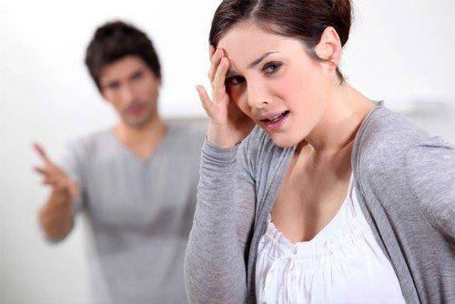 Поссорились с парнем/мужем.