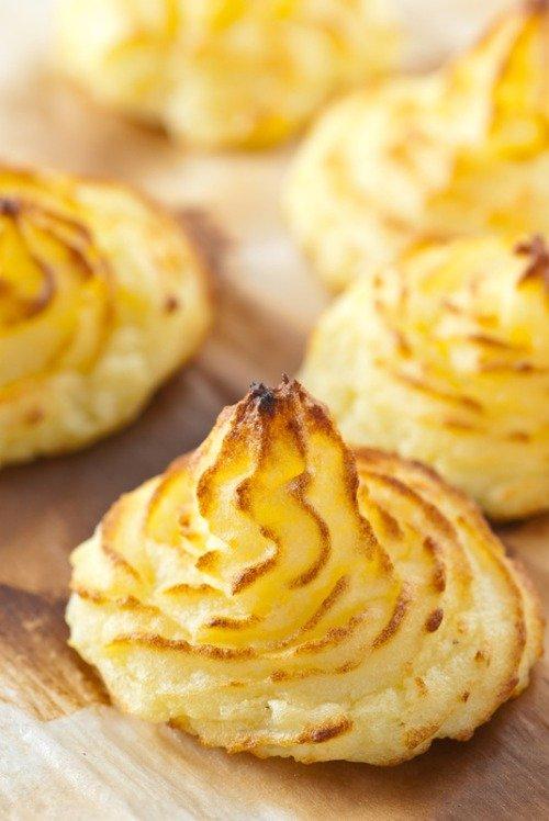 Картофельное печенье или пирожное «Герцогиня»
