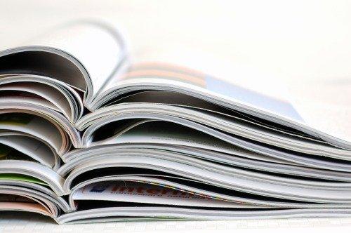 идеи для статей можно брать с журналов