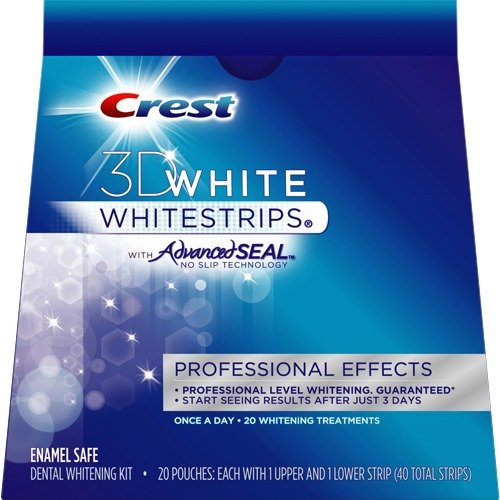 Полоски для отбеливания зубов Crest 3D White Whitestrips Professional Effects