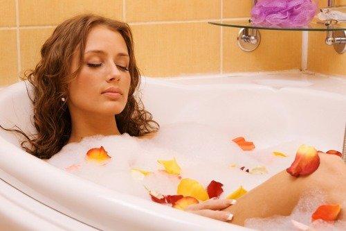 приготовьте себе горячую ванну