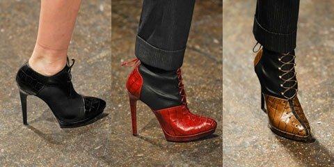 Обувь осени 2012