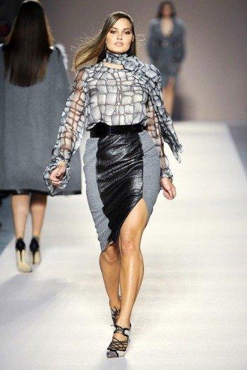 Мода для полных (осень 2012)