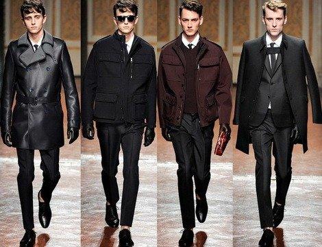 Мужская мода осень 2012