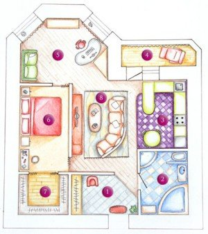Как узаконить сделанную перепланировку в квартире 813