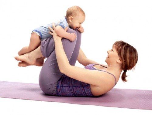 Как похудеть после родов и убрать живот?