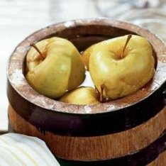 Рецепт моченых яблок