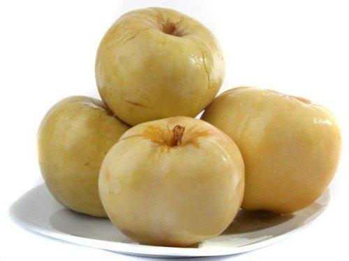 Яблоки моченые в банках