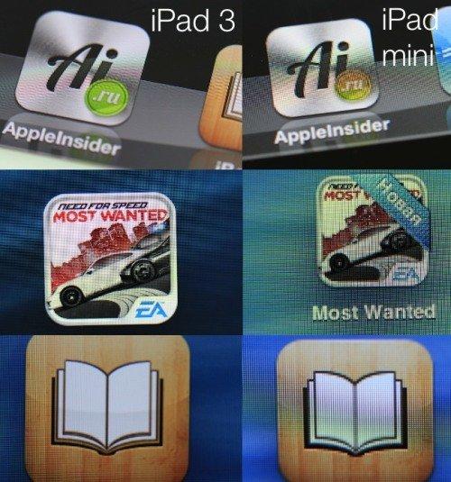 Обзор iPad Mini - дисплей