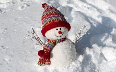 Как сделать снеговик из ниток своими руками