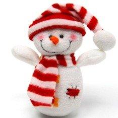 Как сделать снеговика из стаканов своими руками 572