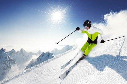 Профессионал на лыжах