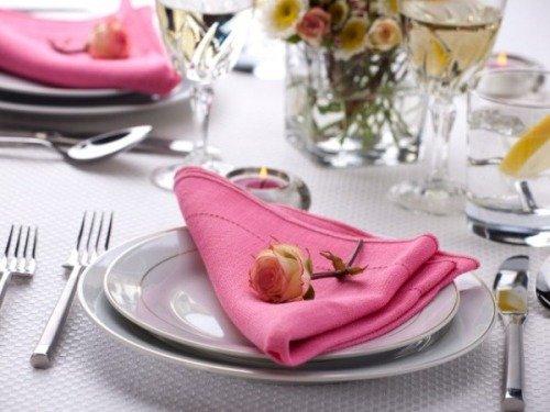 Салфетка с розой (фото)