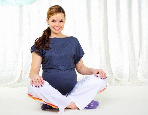 Поза для беременных