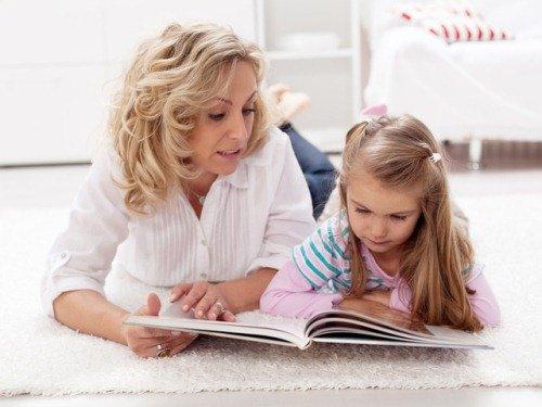 Мама учит читать ребнека