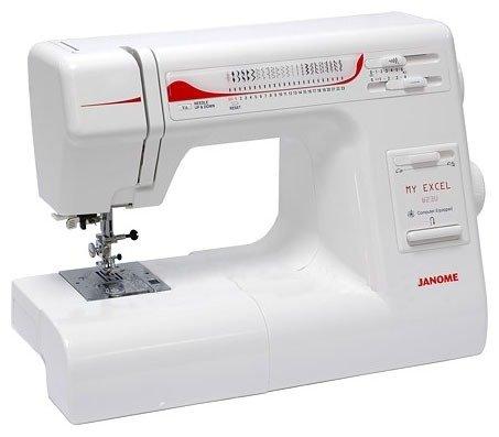 Белая швейная машина