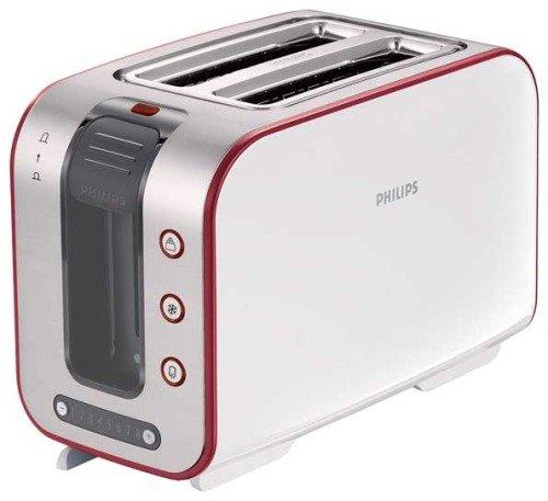 Белый тостер Philips