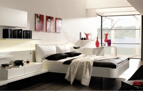 Современная спальня с минималистическим дизайном