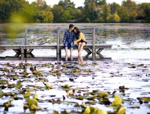 Романтическое свидание с девушкой