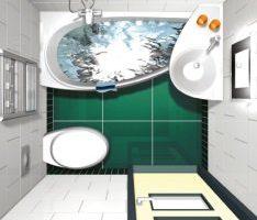 Маленька ванна комната