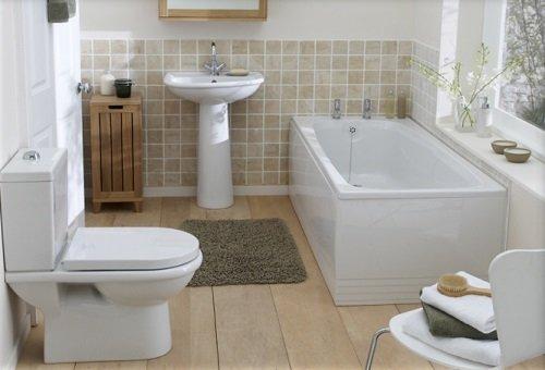 Ванная комната в стиле 20-30-х годов 20-го века
