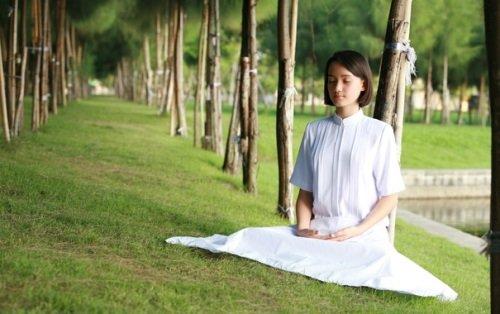 Медитирование на природе