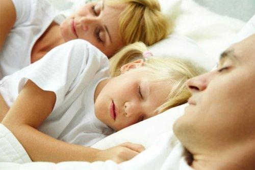 У семьи здоровый сон