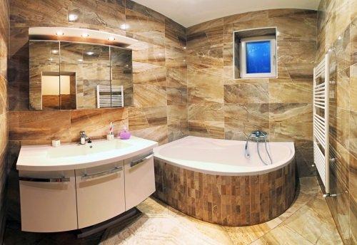 Интересная ванная комната