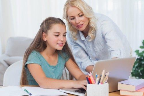 Делаем уроки с родителями