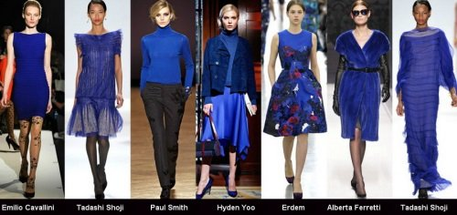 Модный тёмно-синий цвет
