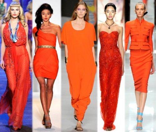 Оранжевый – настоящий фаворит весны-лета-2014